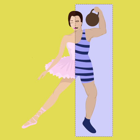male ballet dancer: Fragility is deceptive