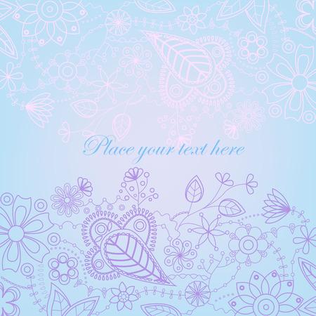 gently blue: Blue background Illustration