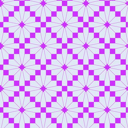 crotchet: pink knitting seamless pattern