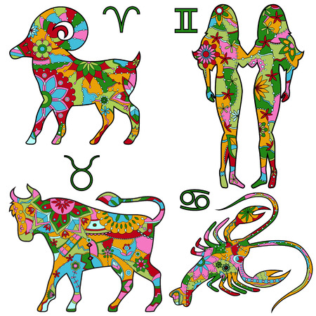 horoscope: colorful horoscope