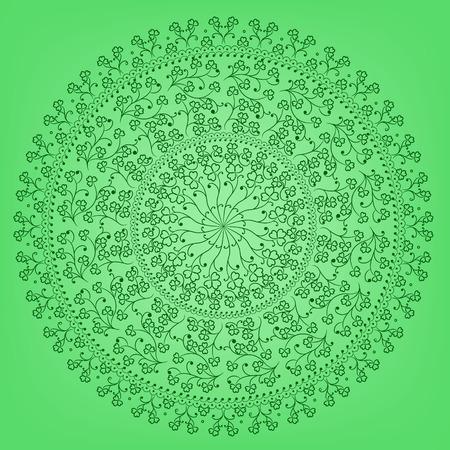 patrik: Vector round ornate