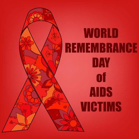 victims: Vector AIDS victims background