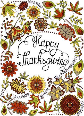 greeting: greeting card happy thanksgiving