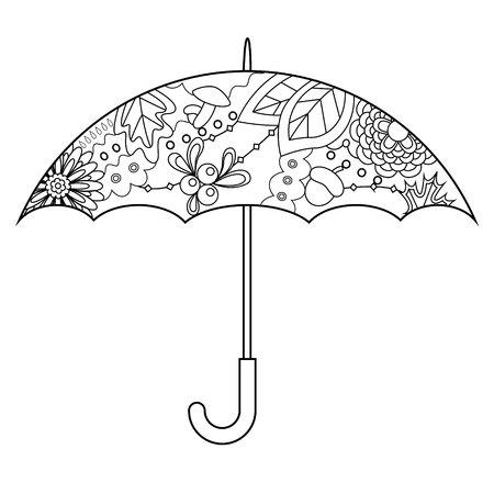 Vector umbrella coloring