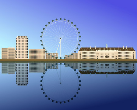 Vector illustration of London Illustration