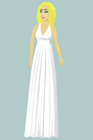 217 Greek Dress Stock Vector Illustration And Royalty Free Greek ...