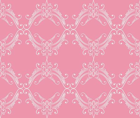 seamless pattern: Damask seamless pattern vector