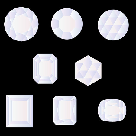 faceting: shaped gemstone faceting