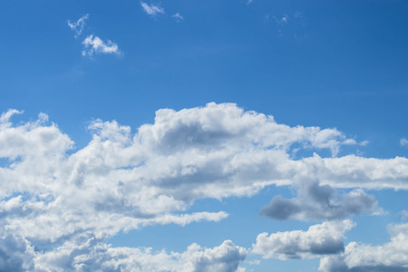 Cloud in the sky photo