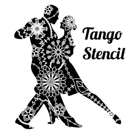 Tango stencil