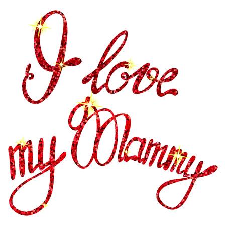 mammy: I love my Mammy tinsels