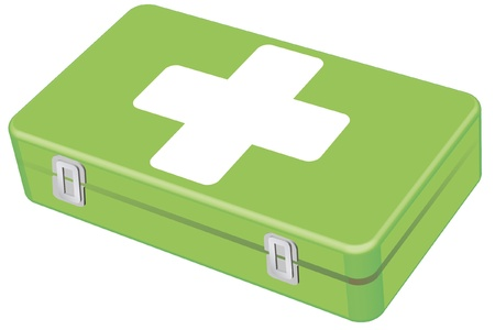 Veterinary first-aid kit Illustration