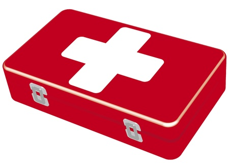 The first-aid set Stock Vector - 10225915