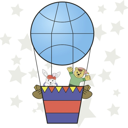 Vector image of the balloon