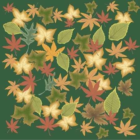 image of leaves Stock Vector - 10225910