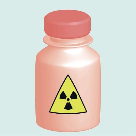 Bottle danger Illustration