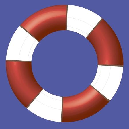 Lifebuoy Illustration
