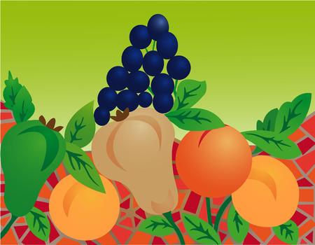 Fruit composition Illustration
