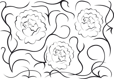 Patterns, flowers