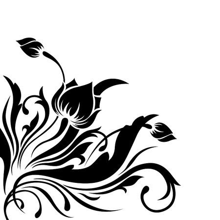 Angular pattern flower