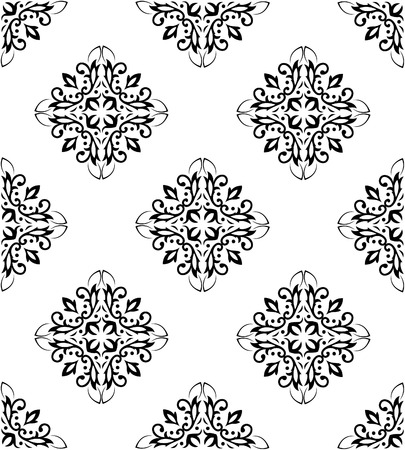 Ornate seamless pattern Stock Vector - 6851474