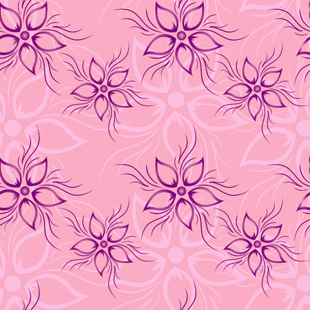 Floral seamless pattern Stock Vector - 7728053