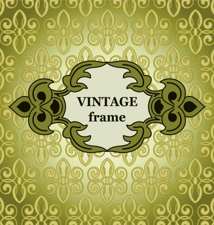 Vector background with a pattern in a vintage style.
