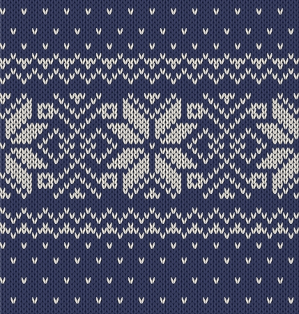jacquard: Vector knitted background