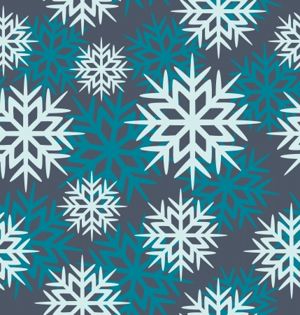 Vector seamless background with snowflakes image