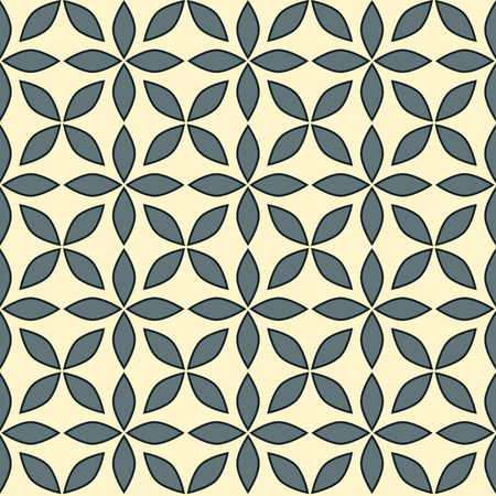 background with the  seamless geometric pattern Illustration
