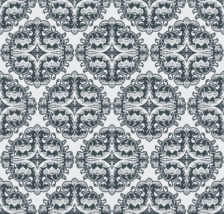 Vector flower pattern seamless Illustration