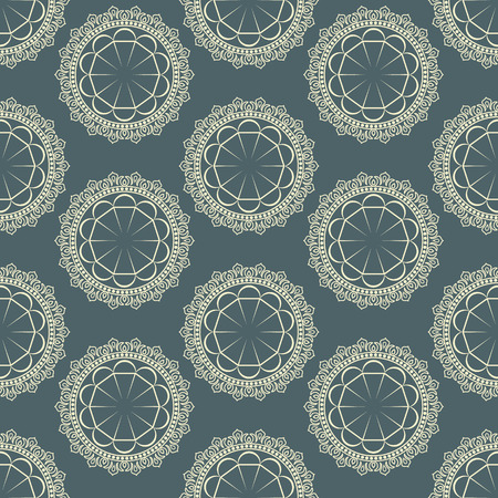 Vector background with a seamless pattern