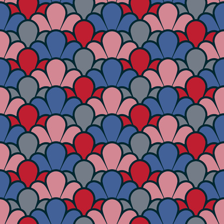 Vintage background with a seamless pattern