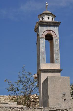 Iglesia de San Nicolás en el embalse de Kouris