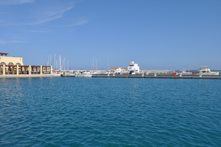 waterfront property: The Limassol Marina in Cyprus.