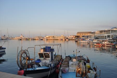 limassol: Limassol Marina Stock Photo