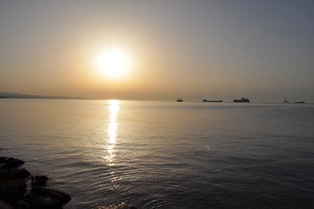 The Limassol Marina in Cyprus Stock Photo