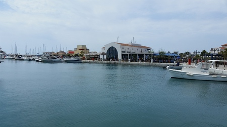 waterfront property: The Limassol Marina in Cyprus Editorial
