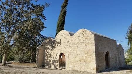 Byzantine Church of Saint Efstathios from Kolossi Castle