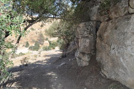 Choirokoitia. The Neolithic settlement of Choirokoitia Reklamní fotografie