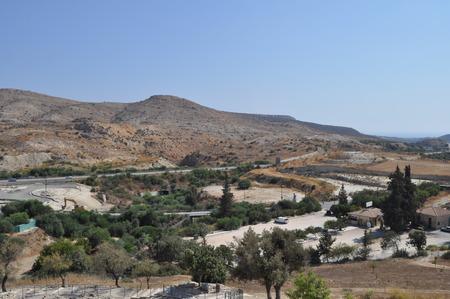 Choirokoitia. The Neolithic settlement of Choirokoitia Banque d'images