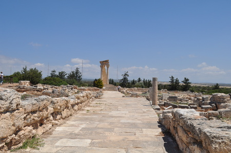Sanctuary of Apollo Hylates Cyprus