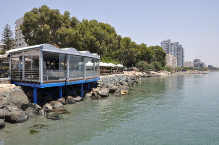 The Limassol Enaerios in Cyprus Stock Photo