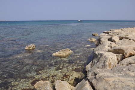 The beautiful Governors Beach Limassol in Cyprus