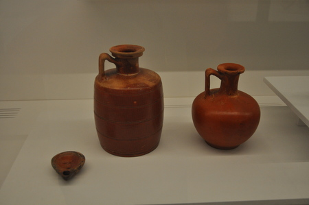 The beautiful Archaeological Museum of the Limassol in Cyprus Редакционное