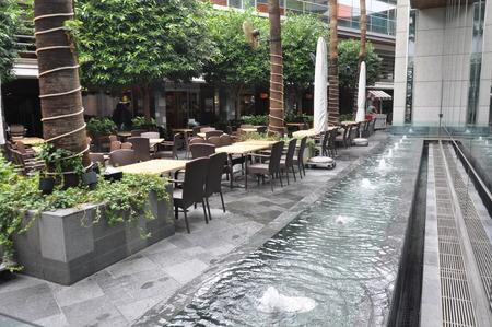 The beautiful Columbia Plaza Restaurant Limassol in Cyprus