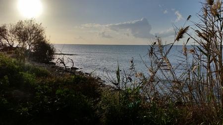 The beautiful natural sea landscape