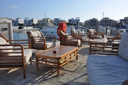 The beautiful Limassol Marina in Cyprus