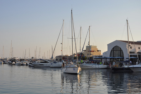 The beautiful Old Port Limassol in Cyprus 写真素材