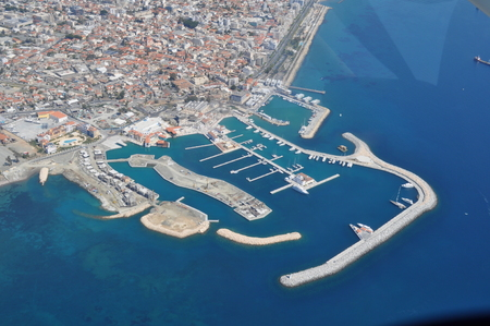 The beautiful Overview Limassol Marina in Cyprus